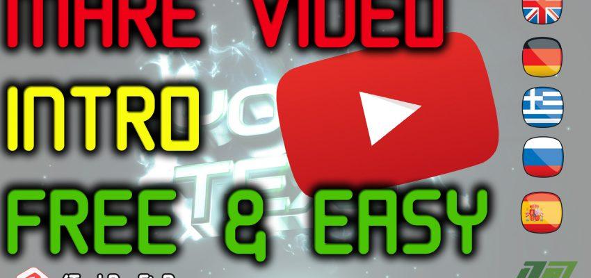 Youtube Video Intro Erstellen Konstellos – Anleitung