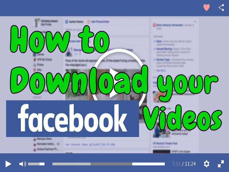Wie kann man Facebook Videos Downladen – Anleitung